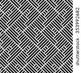 the geometric pattern by... | Shutterstock .eps vector #353992682
