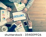 business team concept ... | Shutterstock . vector #354009926