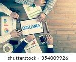 business team concept ... | Shutterstock . vector #354009926