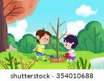 illustration for children  the...   Shutterstock . vector #354010688