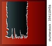 a sheet of paper ripped | Shutterstock . vector #354110456