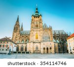 Famous St. Vitus Cathedral...