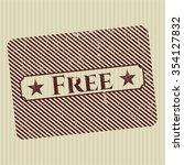 free grunge seal | Shutterstock .eps vector #354127832