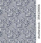 seamless pattern geometry | Shutterstock .eps vector #354134006