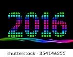2016 happy new year | Shutterstock . vector #354146255