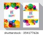 vector illustration of a be... | Shutterstock .eps vector #354177626