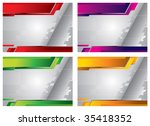 background template | Shutterstock .eps vector #35418352