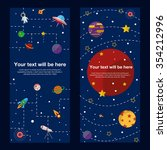 Space Theme Banners And Cards...