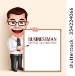 3d realistic professional... | Shutterstock .eps vector #354224066