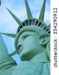 the statue of liberty america... | Shutterstock . vector #354290912