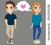 Teenager Boy And Girl Secretly...