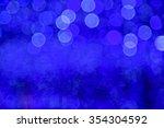abstract circular bokeh... | Shutterstock . vector #354304592