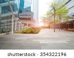the modern building of the... | Shutterstock . vector #354322196