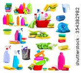 Collage Of Photos Detergent An...