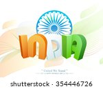 glossy 3d text india in... | Shutterstock .eps vector #354446726