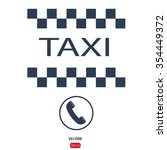 taxi icon | Shutterstock .eps vector #354449372