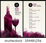 invitation template for event... | Shutterstock .eps vector #354481256