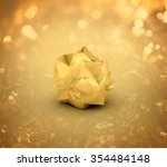 golden nugget on the background ... | Shutterstock . vector #354484148