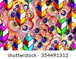 Vibrant Seamless Pattern...
