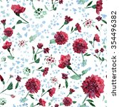 raster seamless pattern with... | Shutterstock . vector #354496382
