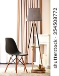 stylish conception with chair...   Shutterstock . vector #354508772