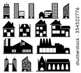 buildings | Shutterstock .eps vector #354522776