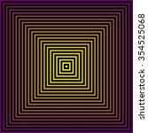 tunnel vision optical illusion. ... | Shutterstock .eps vector #354525068