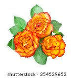 Bouquet Of Golden Roses