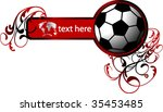 abstract football concept | Shutterstock .eps vector #35453485