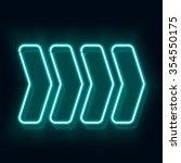 Vintage Neon Electro Direction. ...