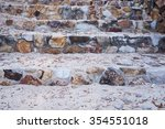 a detailed pattern of stone... | Shutterstock . vector #354551018