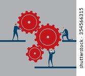 teamwork | Shutterstock .eps vector #354566315