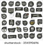premium quality modern labels... | Shutterstock .eps vector #354590696
