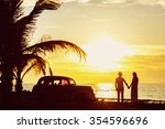 perfect vacation picture of... | Shutterstock . vector #354596696