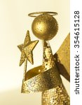 angel with star in the hands... | Shutterstock . vector #354615128