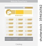 gold web template simple vector ...