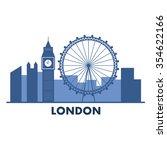 London   England Vector...