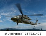 Military Helicopter Uh 60 Blac...