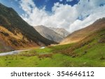 khevsureti mountains georgia... | Shutterstock . vector #354646112