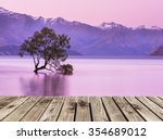 Wooden Pier And That Wanaka...