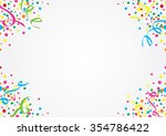 white background of colorful... | Shutterstock .eps vector #354786422