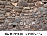 old rustic stone wall texture... | Shutterstock . vector #354802472