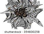 vector illustration of the word ...   Shutterstock .eps vector #354830258