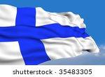 finnish flag.   Shutterstock . vector #35483305
