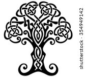 vector ornament  decorative...   Shutterstock .eps vector #354949142