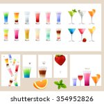 set with different kinds of... | Shutterstock .eps vector #354952826