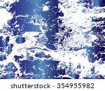 texture concrete wall useful as ... | Shutterstock .eps vector #354955982