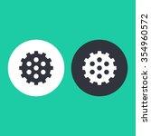 vector illustration of gear... | Shutterstock .eps vector #354960572