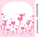happy birthday or valentines day | Shutterstock .eps vector #355050938