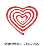 the universe of the heart   Shutterstock .eps vector #355129922